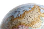 Globe view of Russia — Stock Photo