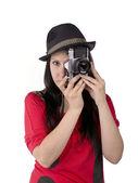 Portrait view — Stock Photo