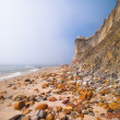 Stock Photo: Rocky seashore