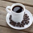Black coffee — Stock Photo #18394905