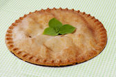 Apple pie ready to eat — Stock Photo