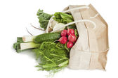 Bag of vegetables — Stock Photo