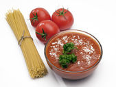 Taza de salsa — Foto de Stock