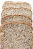 Detail obrazu plátky chleba brown — Stock fotografie