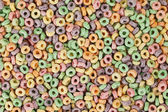 Fruit loops cereals — Stock Photo
