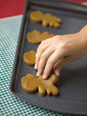 Ginger bread cookies — Stock Photo