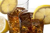 Szklanki mrożonej herbaty — Zdjęcie stockowe