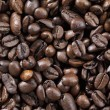 Pile of roasted coffee beans - Stock Photo