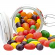 Stock Photo: Spilling jelly beans