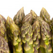 Standing Asparagus Tip Close up — Stock Photo