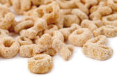 Round cornflakes — Stock Photo