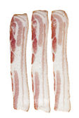 Three slice of bacon — Stock Photo
