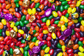 View of jellybean candies — Stock Photo