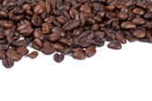 Close up image of pile of coffee beans — Stock Photo