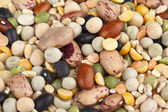 Mixture of beans and pulses — Stock Photo