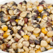 Variety of corns in bowl — Foto Stock