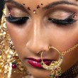 Close up of an indian bride — Stockfoto