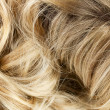 Stock Photo: Blond wavy hair