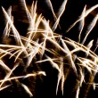 Burst of fireworks — Stock Photo