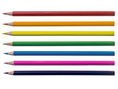 Assorted coloring pencil — 图库照片