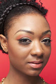 Beautiful black lady — Stock Photo