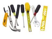 Ein paar tools auf weiß — Stockfoto