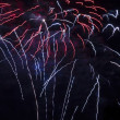 Colorful burst of fire works — Stock Photo #18751193