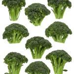 Broccoli Florets — Stock Photo #18756105
