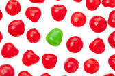 Gumballs pattern — Stock Photo