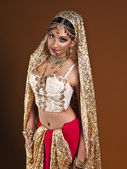 Beautiful indian bride — Foto de Stock