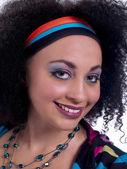Portrait d'une jeune femme souriante — Photo