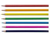 盛り合わせ着色鉛筆 — ストック写真