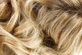 Blond wavy hair — Stock Photo