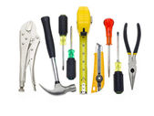 Bunch of tools — Stockfoto
