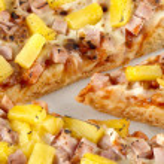 Close up image of hawaiian pizza — Stock Photo #18760729