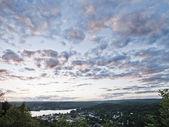 Colofrul nubes — Foto de Stock
