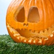Stock Photo: Jack o lantern close up