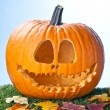 Stock Photo: Jack o lantern portrait