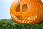 Jack o lantern close up — Stock Photo