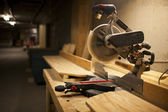 Miter saw — Stock Photo