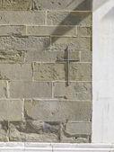 Modern taş tuğla duvar — Stok fotoğraf