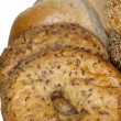 Yummy bagels close up — Stock Photo