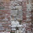 Stock Photo: Weathered tuscwall