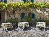 Toscana café — Stockfoto