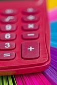 Roze rekenmachine — Stockfoto
