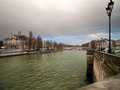 Seine in Paris — Stock Photo