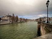 Seine in Paris — Stock Photo