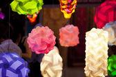 Lanterne colorate — Foto Stock