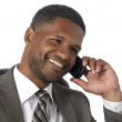 Businessman calling through his cellphone — Stock Photo #19291035