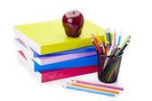 School gebruiksvoorwerpen — Stockfoto